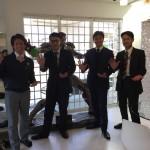 ハウスメイク店舗にて日本ペイントの部長様がご来店されました。
