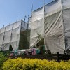千葉市緑区あすみが丘ダイヤモンドコート塗装工事着工しました