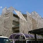 千葉市緑区にて屋根外壁塗装工事着工しました