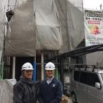 市川市にて屋根外壁塗装工事ダイヤモンドコート着工しました