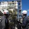 日本ペイントのプレミアム外壁塗装「ダイヤモンドコート」施工現場が着工しました