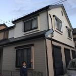 千葉市中央区にてダイヤモンドコート屋根外壁塗装工事完工しました